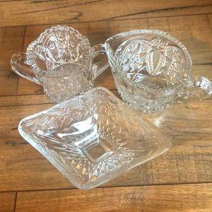 Antique Vintage Cut Glass